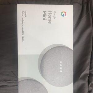 Google Home Mini 2 Pack